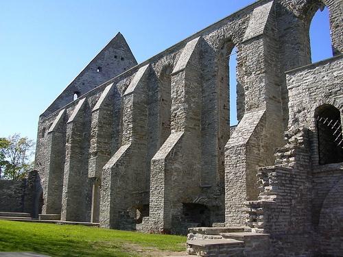 Birgittalaisluostarin rauniot Tallinna