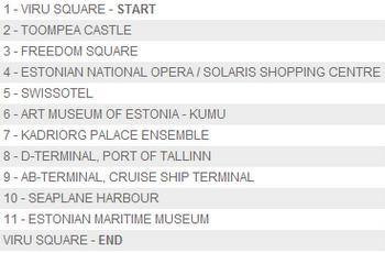 City Tour kiertoajelut punainen linja Tallinna