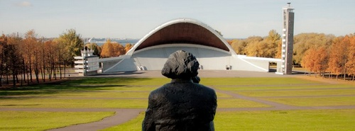 Gustav Ernesaks monumentti Tallinnan laululava