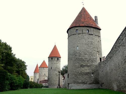 Köismäen Platen Eppingin ja Grusbeken torni Tallinna