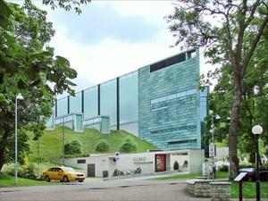 KUMU taidemuseo Kadriorg Tallinna