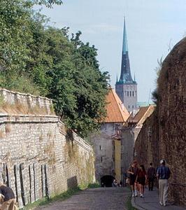 Pikk Jalg katu Tallinna