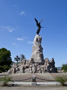 Russalka muistomerkki Kadriorg Tallinna