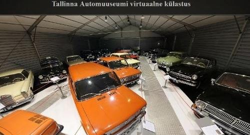 Tallinnan automuseon virtuaalikierros