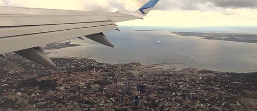 Tallinnan keskusta ilmakuva