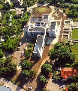 Tallinnan uusi Piritan luostari ilmakuva