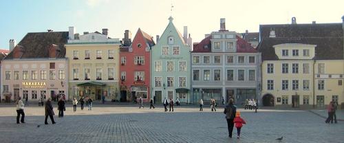 Tallinnan vanhankaupungin raatihuoneentori