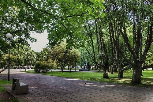 Tammsaaren puisto Tallinna