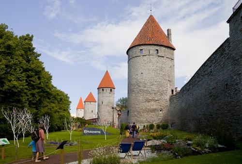 Tornien aukio Tallinnassa