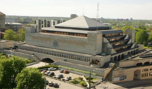 Viron kansalliskirjasto Tallinna