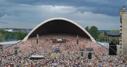 Viron laulujuhlat Tallinna laululava
