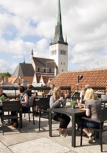 Viron merenkulkumuseo Tallinnan kattokahvila