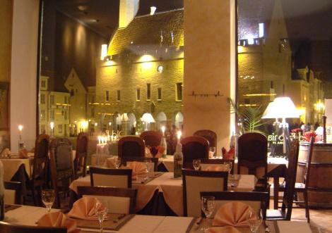 Old Estonia virolainen ravintola Tallinna