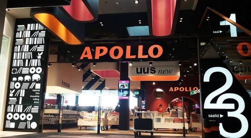 Solaris kauppakeskus Apollo kirjakauppa Tallinna