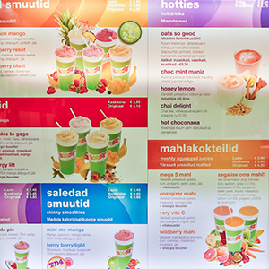 Boost Juice Bar Tallinna