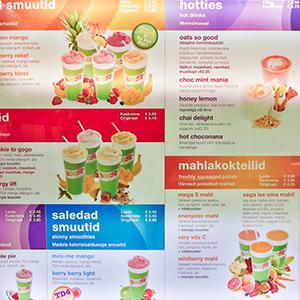 Boost Juice Bar Tallinna