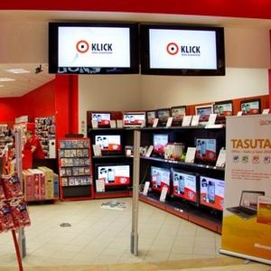 Klick Ülemiste Kaubanduskeskus Tallinna