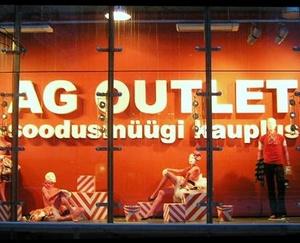 AG OUTLET vaatekauppa Meloni Keskus Tallinna