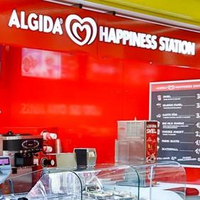 Algida Happiness Station jäätelökahvila Rocca al Mare Tallinna