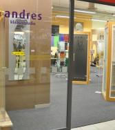 Andrese Klaasistuudio lasiliike Järve Keskus Tallinna