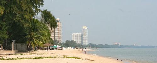 Cha Am Beach Thaimaa