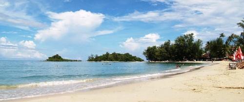 Choeng Mon Beach Koh Samui Thaimaa