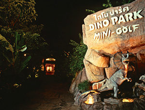 Dino Park Mini Golf Kata Beach Thaimaa