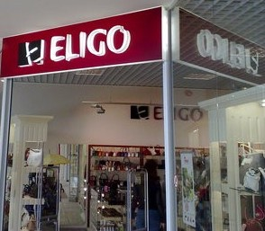 Eligo myymälä Ülemiste Keskus Tallinna
