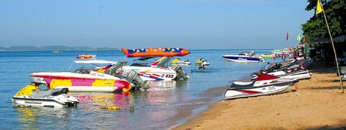 Jomtien Beach vesiurheilu Thaimaa