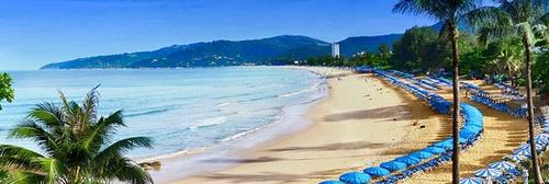 Kata Beach ranta Thaimaa
