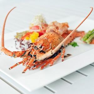 Khao Lak Thaimaa ruokailu