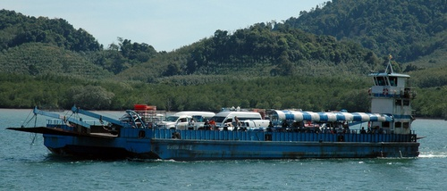 Koh Lanta lautta Thaimaa