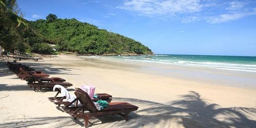 Koh Samet ranta Thaimaa