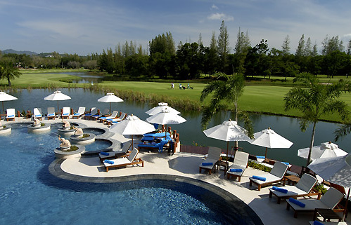 Laguna Phuket lomakeskus Bangtao Thaimaa