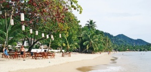 Lonely Beach Koh Chang Thaimaa