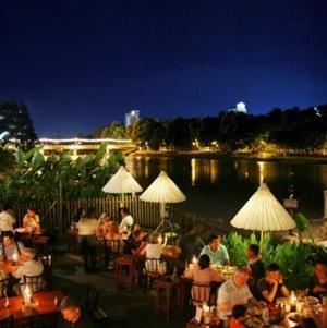 Ping-joki Chiang Mai Thaimaa