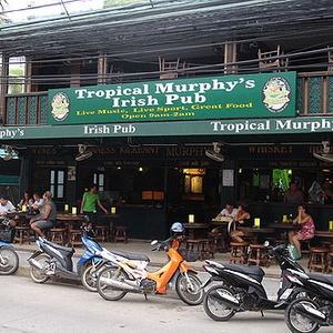 Tropical Murphy's baari Koh Samui Thaimaa