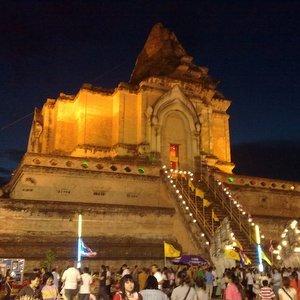 Wat Chedi Luang Chiang Mai Thaimaa