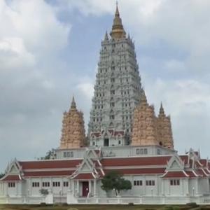 Wat Yansangwararam Jomtien Beach Thaimaa