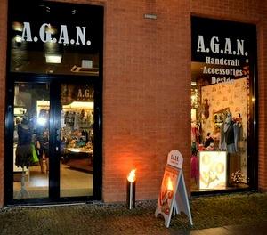 A.G.A.N. vaatekauppa Rotermann Tallinna