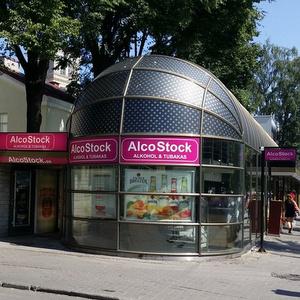 Alcostock myymälä Viru Tallinna