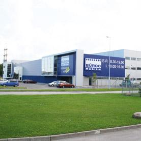 Büroomaailm toimistotarvikekauppa Peterburi tee Tallinna