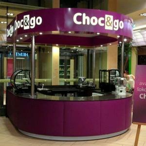 Choc&go suklaakahvila Solaris Keskus Tallinna
