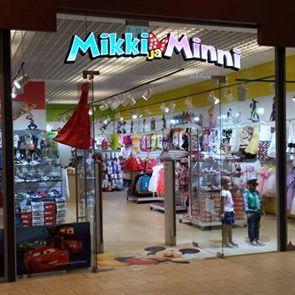 Mikki ja Minni lastenvaatekauppa Lasnamäe Centrum Tallinna