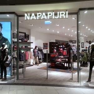 Napapijri vaatekauppa Ülemiste Keskus Tallinna