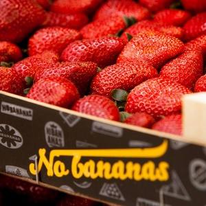 No Bananas mansikat Tallinna