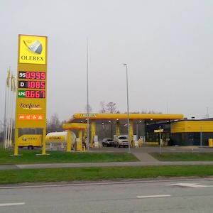 Olerex huoltoasema Õismäe Tallinna