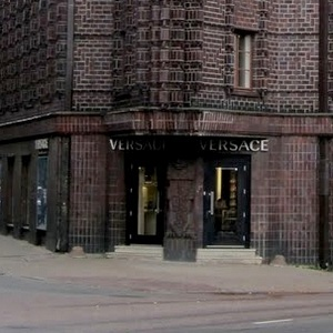 Versace vaatekauppa Pärnu maantee Tallinna