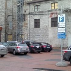 Citypark parkkipaikka Tallinna