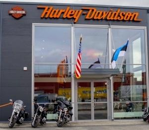 Harley-Davidson moottoripyöräkauppa Tallinna